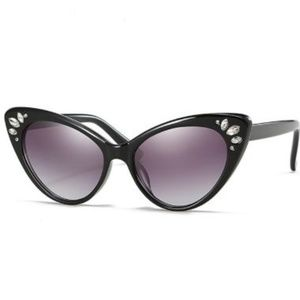 b3c4c02e8899 Accessories - Jeweled Cat Eye Sunglasses